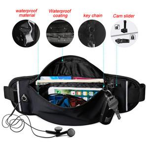 Capacité multifonctionnelle assez léger imperméable sangle réglable Camping Téléphone extérieur Clés Pouch Cartes Casual sac de taille
