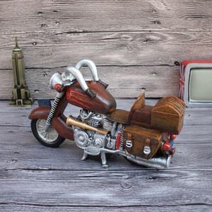 2018 Moto Résine Tirelire Creative Accueil Accessoires Nouveauté Produits Crafts Décorations avec la boîte d'emballage cadeau