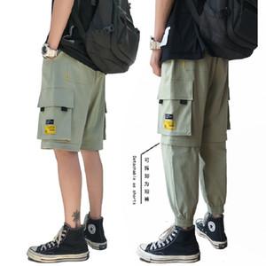 iiDossan removibile Tasche Cargo Pants per gli uomini Streetwear Pantaloni Outdoor sport respirabili Hiphop Patalones 2020 di nuova vendita calda