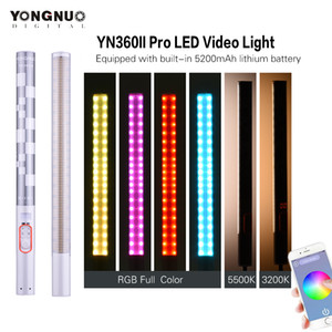 Yongnuo YN360II YN360 II Handheld Pixel ICE Стик LED Video Light 3200K-5500K Video Light RGB Красочная Контролируется Phone App