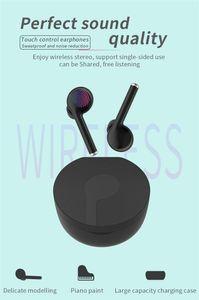 TW40 inalámbrica Bluetooth 5.0 auriculares TWS Touch Sport Headset Auriculares de gran capacidad de la batería con el MIC para todos los teléfonos móviles