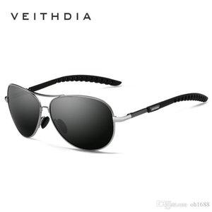 VEITHDIA New Polarized Mens Sunglasses Brand Designer Sunglass Eyewear Sun Glasses uv400 Goggle gafas oculos de sol For Men 3088
