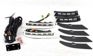 Auto-Tech 1 diurna del coche LED de las luces corrientes DRL de reemplazo para Toyota Fortuner SW4 2012-2014