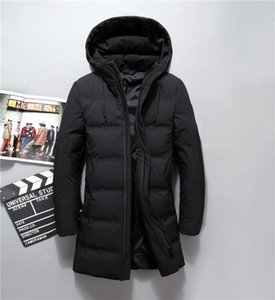 Wholesale- 2019 Winter long parkas Waterproof windproof hooded coat male High quality thicken coats