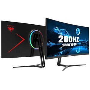 Ipason Gaming Monitor Qr302W 30 Inch 21:9 curved 2K Highly Refresh Rate 200hz Display Widescreen 21:9 with PS4 E Sports Monitor