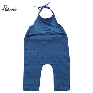 Herbst-Kind-Baby-Punkt-Gurte Strampler Jumpsuits One-Piece Pants Kleidung Kinder Kleinkind Overalls 2Colors