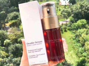 Drop shipping Top Quality Paris Double Serum Hydric Lipidic System Traitement Complet Intensif Facial Essence 50 мл