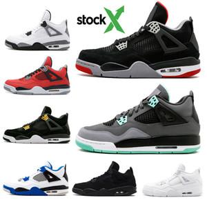 2020 зеленый Glow36-45 4 баскетбольная обувь старый разводной цемент Thunder 4s CAVS черный кот открытый баскетбольная обувь женщины мужчины спортивные кроссовки