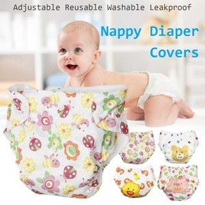 Reusable Washable Baby Cloth Diaper Printed Nappy Pocket Cloth Diaper