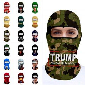 DHL shipping Trump Magic Scarf Mask Multifunction Outdoor Cycling Headscarf Head Cover Wind Balaclavas Turban Motorcycle Face Masks L215FA