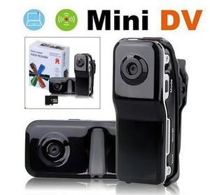 2020- MD80 de alta resolución de sonido Mini DV DVR Deportes vídeo del expediente videocámara de la cámara activa la función de grabación de envío JBD-MD80 DHL
