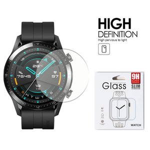 Para Huami Amazfit GTR GTS Huawei GT 2 46MM activo elegrant honor elegante mágica reloj de vidrio templado transparente protector de la pantalla