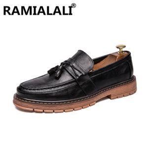 Men Dress Shoes Slip on Men Formal Shoes Leather  Fashion Groom Wedding Oxford Dress