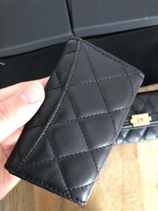 Trasporto libero di alta qualità Famous brand new donne uomini classico 6 copertura portachiavi con box.dust bag, anello chiave CF card