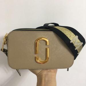 colore borsa fotografica nuova pelle color MJ tracolla larga singola spalla Messenger Bag Borsa telefono quadrato di pelle delle donne 2020 di alta qualità
