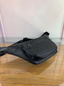 Designer-borse marsupio in vita l'uomo borse del sacchetto della borsa della borsa della borsa di lusso di tessitura modello di borsa di cuoio superiore qualità genuina