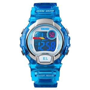 Orologi regalo dei capretti per l'età 4-12 anni nuoto impermeabile congelati della vigilanza di sport delle ragazze dei ragazzi Led digitale orologi per i bambini # 2