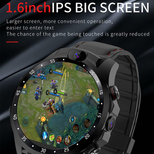 Neue Smart-Uhr 4G netcom 3 + 32GB Android 7.1 Dual-HD-Kamera 1,6-Zoll-IPS-großer Bildschirm Herzfrequenz-Monitor-Unterstützung GPS 5MP Smartwatch