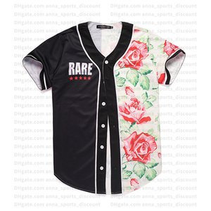 2020 new baseball uniform 3D creative color matching printing custom series comfortable and loose breathable T-shirt