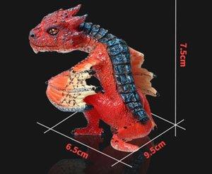 Simulation du modèle de dinosaure statique solide Seigneur des anneaux