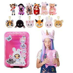 Cego caixa surpresa bolsa unicórnio balão de pelúcia moda boneca menina menina menina brinquedo presente Balão Barbie boneca