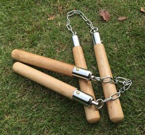 جديد وصول بروس لي Nunchaku اللياقة البدنية فنون الدفاع عن النفس خشبية ، عرض المرحلة لوازم التمرين وفي الهواء الطلق للحفاظ على الصحة