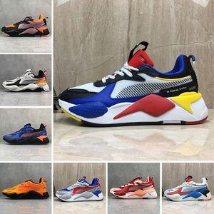 chaussures de zapatos puma rs x 2019 Moda Alta Qualità RS-X Giocattoli Reinvenzione Scarpe colorate traspiranti Nuove donne uomo Running Trainer Casual Sneakers designer 36-45