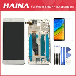 Rouge mi Note 4 LCD (global) pour Xiaomi Redmi Note 4X écran tactile Digitizer Assembly avec cadre CPU pour Snapdragon 625