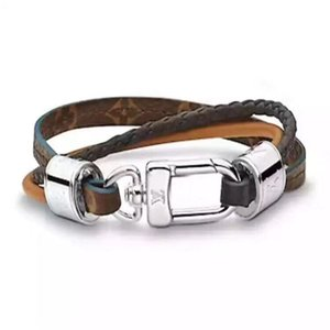 Fashion simple leather bracelet lover titanium steel design bracelet suitable for men and women bracelet
