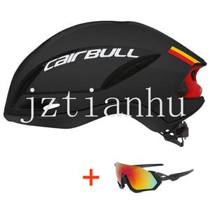 2019 Nouveau Casque de vélo avec des lunettes Route VTT Casque In-mold Ultraléger XC TRAIL VTT Vélo