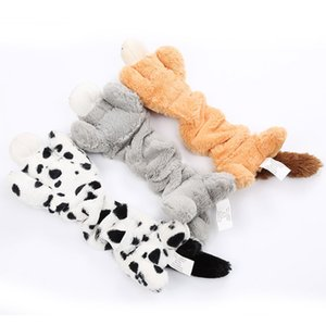 Interactive Squeaky Chew Toy Stuffed Animal Doll For Dogs Molar Supplies For Puppy Pet Supplies
