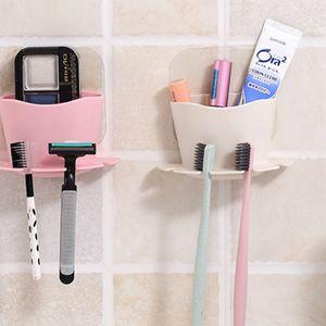 UNTIOR Пластиковый держатель зубной щетки зубная паста стеллаж для хранения бритвы зубная щетка диспенсер ванная комната организатор аксессуары набор инструментов