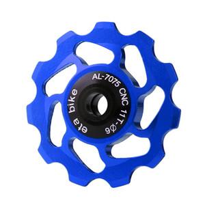 New 11T MTB Bearing Ceramic Jockey roda de polia Estrada da bicicleta Rear Derailleur Outdoor Sports Bike Cycling Acessórios 02 de agosto