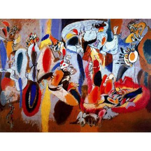 Abstract paintings El higado es la cresta del gallo Arshile Gorky artwork for office wall decor large canvas hand painted