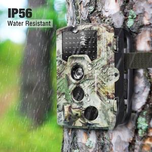 BekinTek IP56 방수 나이트 비전 사냥 카메라 스카우트 트레일 감시 카메라 야생 동물에 대한 광각 16MP 1080P HD 해상도