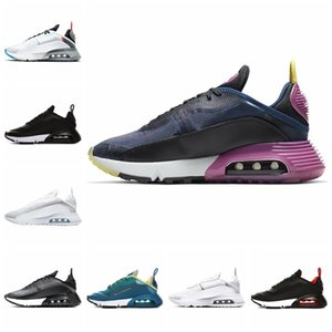 2090 Running Shoes Men Women Mens Trainers Stock X Pure Platinum Duck Camo Bred Triple Black White High Quality Sport Sneakers Size 36-45