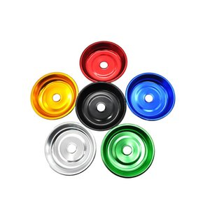 Premium Aluminum Hookah Tray Arabian Shisha Metal Disk Charcoal Plate Chicha Narguile Sheesha Smoking Accessories Multicolor Colorful