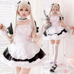 Veste Sissy Maid Dress Anime Yosuga no Sora Sora Kasugano costume cosplay donne degli uomini Kawaii i vestiti per Halloween Party