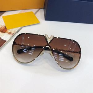 Продажа стиль 1060 пилоты безрамное рамка солнцезащитные очки изысканный Алмаз ручной работы высокое качество дизайнер бренд очки UV400 защиты очки