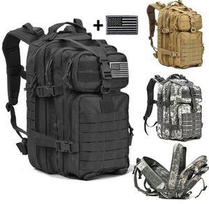 40L Tactical Assault Pack Sac À Dos Molle Étanche Bug Out Sac Petit Sac À Dos pour Randonnée En Plein Air Camping Chasse Livraison Gratuite