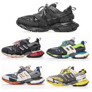 Diseñador Old Dad Shoes Paris Platform Sports Rack Sneakers Luxury Popular Jogging Trainers Hombres Mujeres Zapatillas transpirables de alta calidad