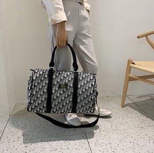 2020 diseño de lujo Duffel bolsos de la marca de totalizadores del hombro de gran capacidad Bolsas Casual Hobo de la taleguilla del cuerpo cruzado Boston Beach Viajar 2062604L