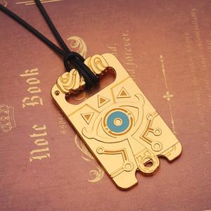 Regalo di San Valentino Zelda Legend Wilderness Pendant Necklace Zelda Breath Of The Wild Collana Catene di gioielli Girocolli Medaglioni Fili