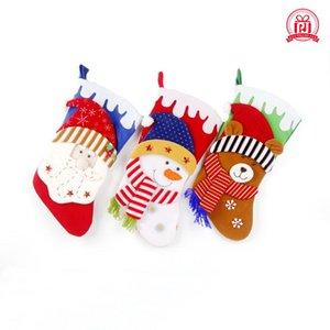 عالية الجودة زينة عيد الميلاد الديكور للترفيه فندق كيس الجوارب عالية الجودة هدية من المنتجات عيد الميلاد