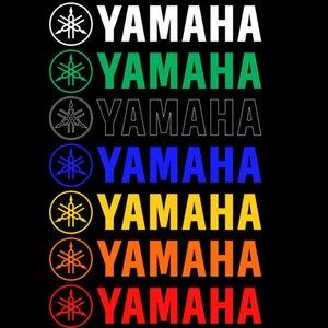 Топливный бак Обтекатель Крышка Fender Шлем Наклейка Наклейка Для Yamaha Мотоцикла На Заказ