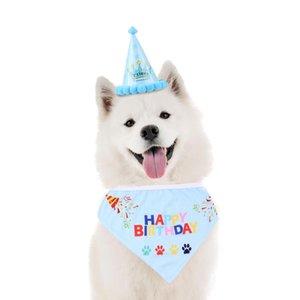 Haustier Hund Cap Toy Welpen-Hundekatze Geburtstags-Hut-Kronen-Form-Kopfbedeckung-Party-Kappe für große Kleine Hund Katze Alles Gute zum Geburtstag Hat Zubehör