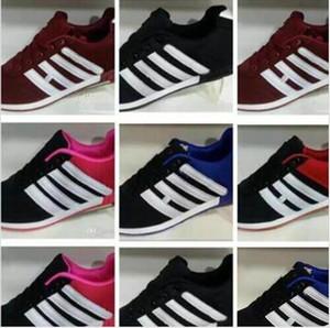 New Die Treppe Schuhe Herren Freizeitschuh Leichtathletik Sport Sneakers Superstar Weibliche flache Schuhe der Frauen-Männer Freizeitschuhe size25-45
