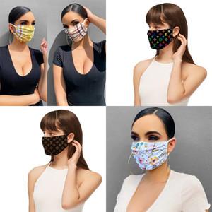 Hot Designer Markengesichtsmasken Schutzmaske Ultraviolettbeweis Staubdichtes Reiten Radfahren Sport Drucke Mund Masken Männer und Frauen im Freien SALE