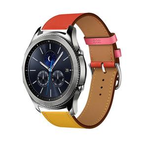кожаный ремешок для часов Samsung Galaxy 46 мм S3 Pebble Time Ticwatch 1 Pro 22 мм для Amazfit 1 2S темп Huawei часы GT 2 Pro ремешок