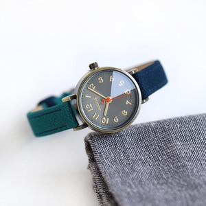 Джулиус ретро бронзовый чехол Жан Кожаный ремешок арабский индекс часы маленькие наручные часы для дамы свободного покроя модный аксессуар часа ЮА-855